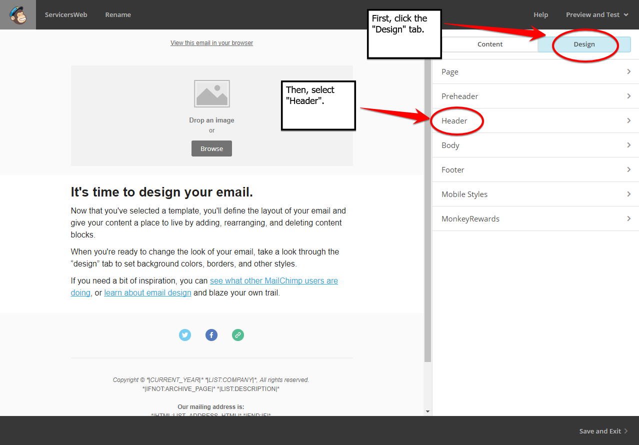how to set up mailchimp wordpress