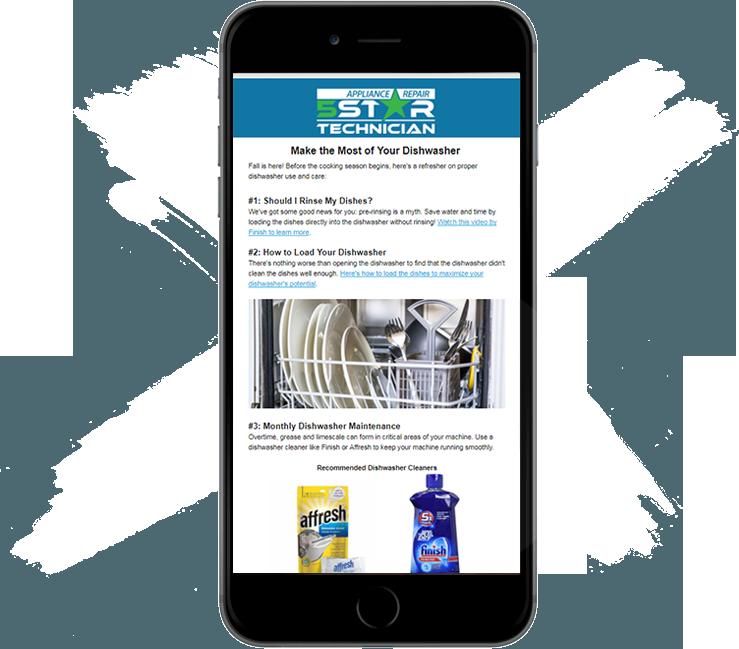 white label newsletter appliance repair